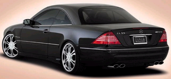 Zinik Z9 Sabini Chrome Wheels on Mercedes CL55