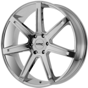 KMC KM700 PVD Chrome Wheels