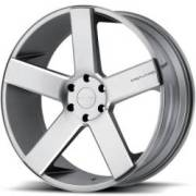 KMC KM690 MC 5 Matte Gray Wheels