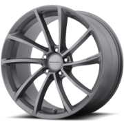 KMCKM691 Spin Gun Metal Wheels