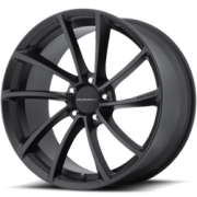 KMC KM691 Spin Satin Black Wheels