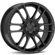 KM696 Pivot Satin Black Wheels