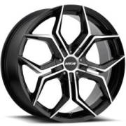 MKW M121 Black Machined Wheels