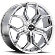 MKW M121 Chrome Wheels