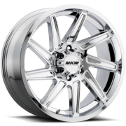 MKW M97 Chrome Wheels