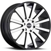 MKW M118 Machined Black Wheels