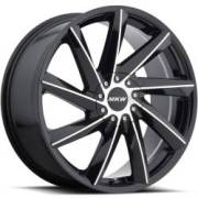 MKW M115 Black Machined Wheels