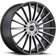 MKW M116 Grey Machined Wheels
