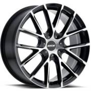 MKW M123 Black Machined Wheels