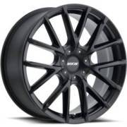 MKW M123 Gloss Black Wheels