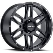 MKW M201 Satin Black Wheels