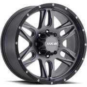 MKW M201 Satin Grey Wheels