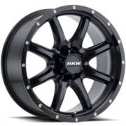 MKW M202 Satin Black Wheels