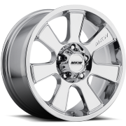 MKW M90 Chrome Wheels