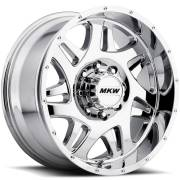 MKW M91 Chrome Wheels