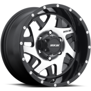 MKW M91 Gloss Black Machined Wheels