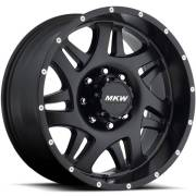 MKW M91 Satin Black Wheels