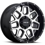 MKW M92 Satin Black Wheels