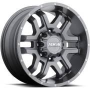 MKW M93 Anthracite Grey Wheels