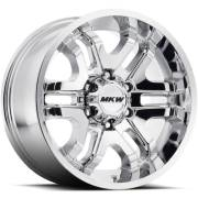 MKW M93 Chrome Wheels