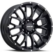 MKW M95 Satin Black Wheels