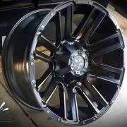 Movement 1037 Black Milled Wheels