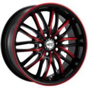 Neoz NZ5020 Black and Red Wheels