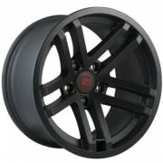 Jesse Spade Satin Black Wheels