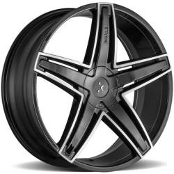 Starr 555 Bovernor Black Machined Wheels