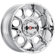 Worx 809C Rebel Chrome Wheels