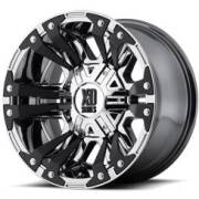XD Series XD822 Monster II Chrome w/Black Accents