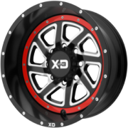 XD833 Recoil Satin Black with Red Reversible Ring